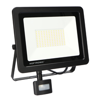 LED Floodlight with twilight switch 100 Watt 4000K Osram IP65 replaces 1000 Watt