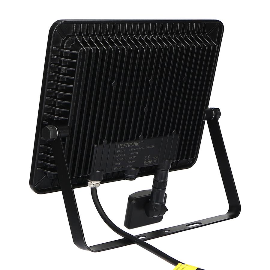 LED Breedstraler met schemerschakelaar 100 Watt 6400K Osram IP65 vervangt 1000 Watt