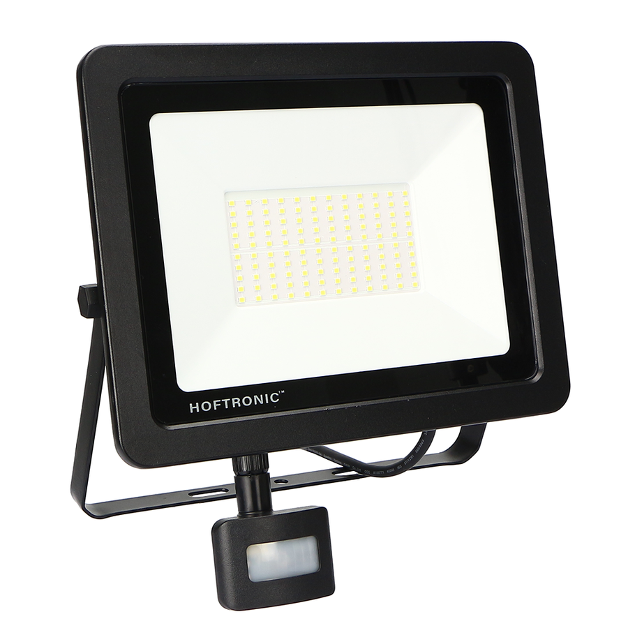 LED Breedstraler met schemerschakelaar 100 Watt 6400K Osram IP65 vervangt 1000 Watt