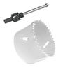 HOFTRONIC™ Bohrochsäge Set Ø 44 mm Bi-Metall + Adapter mit Bohr