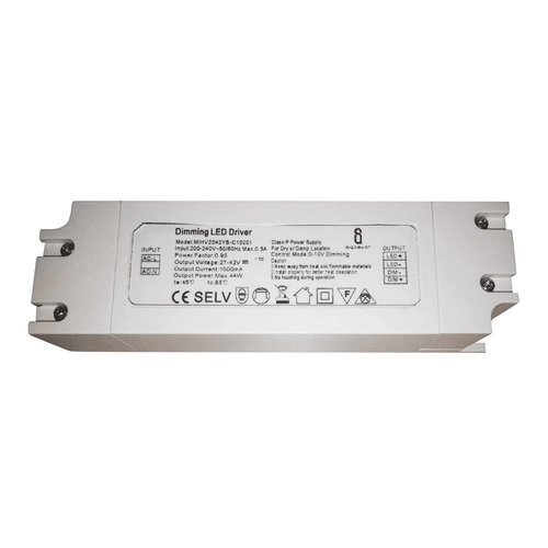 HOFTRONIC™ Dimbare LED Paneel transformator 40 Watt 1-10V