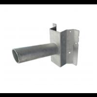 Wall bracket for LED street lamp galvanized steel Ø 48 mm