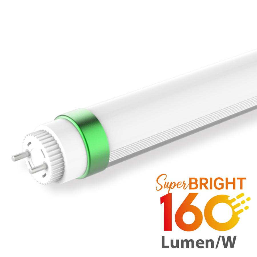 Pro Serie LED T8 Röhre 60 cm 9 Watt 160lm/W High Lumen 4000K 50.000 Brennstunden 5 Jahre Garantie
