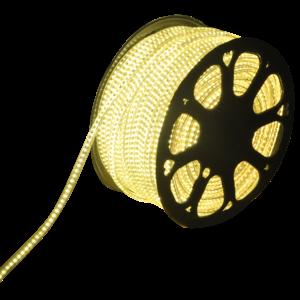 LED Light hose flat 50m color 3000K warm white 60 LEDs/m IP65 Plug & Play