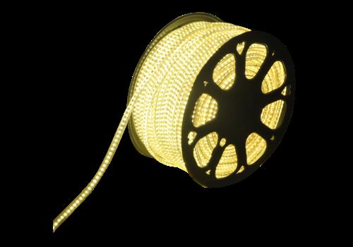 LED Lichtslang plat 50m kleur 3000K 60 LEDs/m IP65 Plug & Play