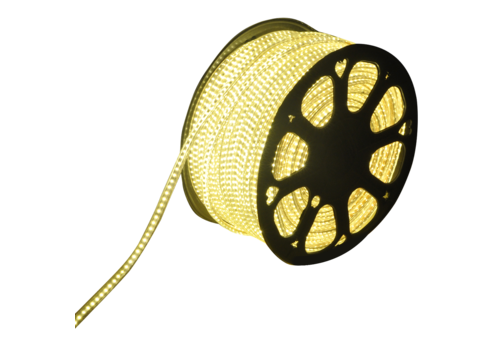 LED Light hose flat 50m color 3000K 60 LEDs/m IP65 Plug & Play