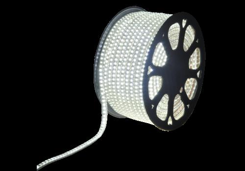 LED-Lichtschlauch 50 Meter 6500K Tageslichtweiß 60 LEDs pro Meter IP65 inkl. Netzkabel Plug & Play