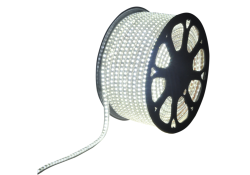 LED Light hose 50 meters 6500K daylight white 180 LEDs per meter IP65 incl. power cable Plug & Play