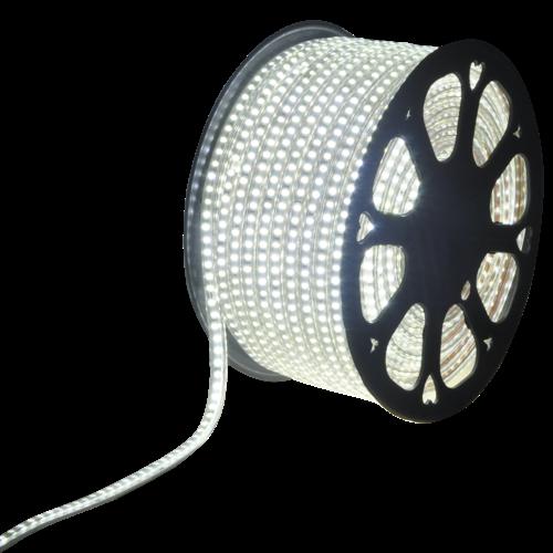 LED Lichtslang 50 meter 6500K daglicht wit 180 LEDs per meter IP65 incl. netsnoer Plug & Play