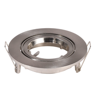 lublin IP20 GU10 armatuur kantelbaar geborsteld aluminium