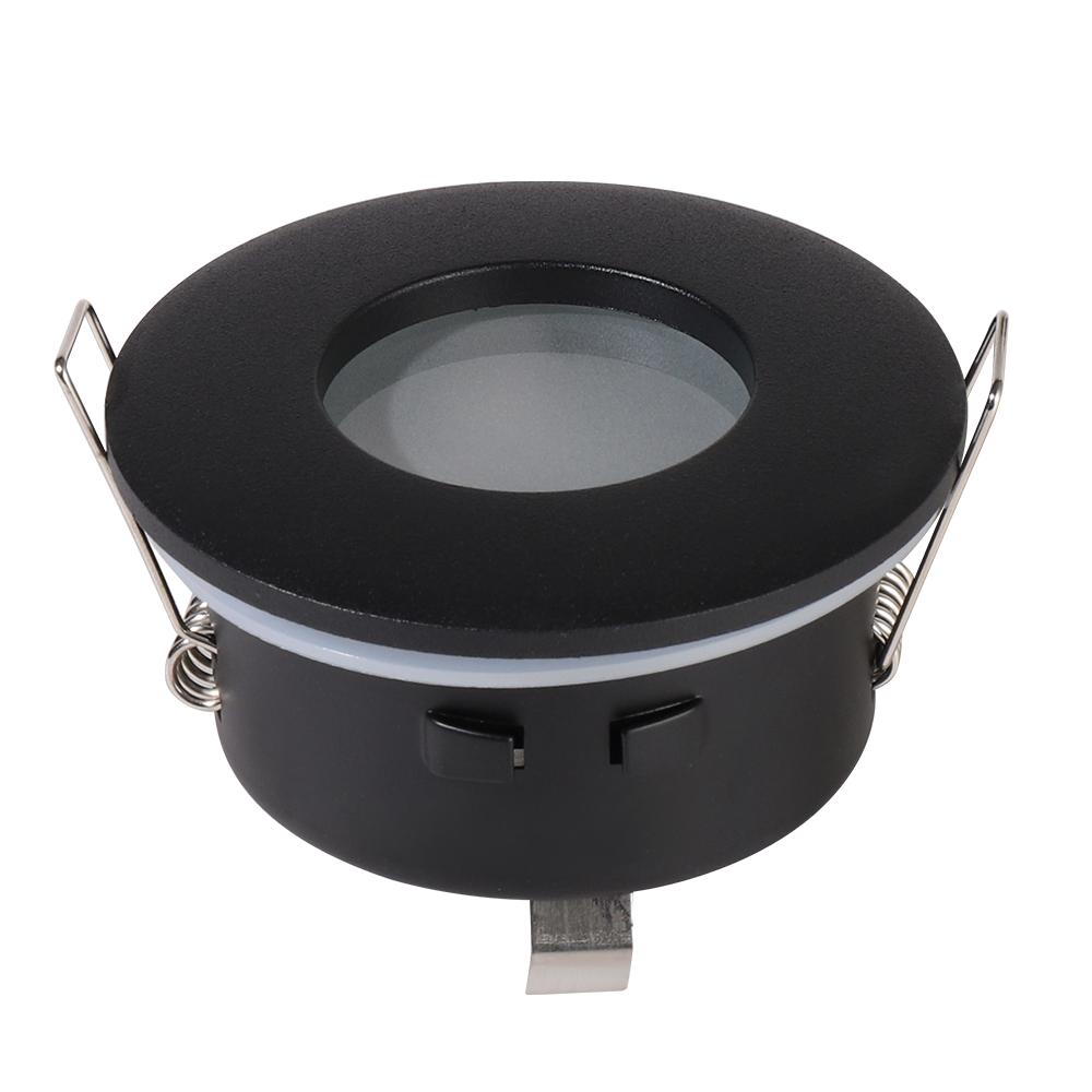 Porto IP44 GU10 armatuur zwart