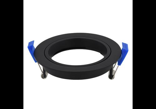 HOFTRONIC™ Luna & Aura Cover ring black tiltable 12W LED Recessed spot