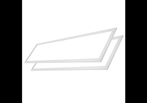 HOFTRONIC™ LED paneel 30x120 cm 36W 3960lm 4000K incl. trafo 5 jr garantie [2 stuks]