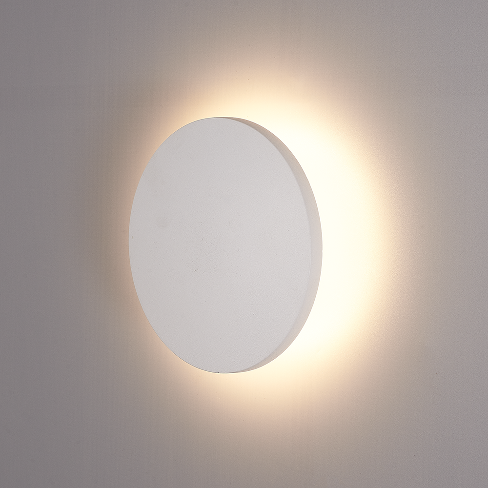 LED Wandlamp Casper wit 6 Watt 3000K IP54 spatwaterbestendig 3 jaar garantie