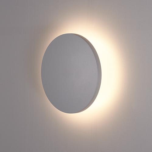 HOFTRONIC™ LED Wandlamp Casper grijs 6 Watt 3000K IP54 Rond
