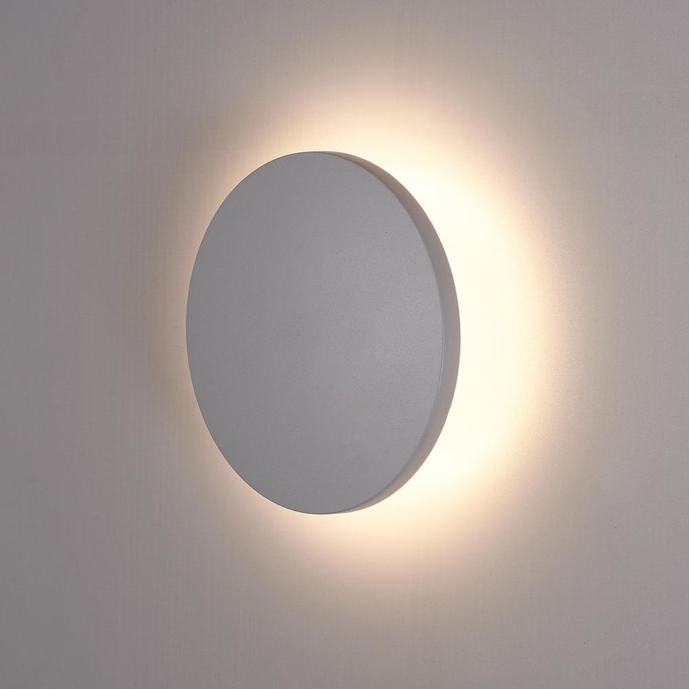 LED Wandlamp Casper grijs 6 Watt 3000K IP54 spatwaterbestendig 3 jaar garantie