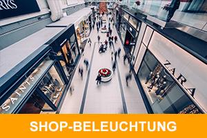 shop beleuchtung
