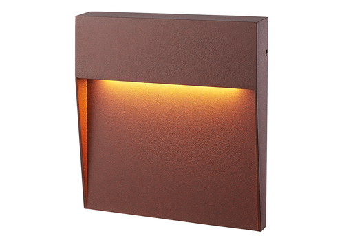 HOFTRONIC™ Dimmbare LED-Wandleuchte Logan Corten 6 Watt 3000K IP54