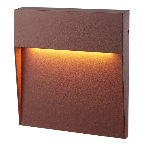 HOFTRONIC™ Dimmable LED wall light Logan corten 6 Watt 3000K IP54