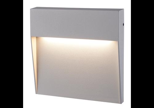 HOFTRONIC™ Dimbare LED Wandlamp Logan grijs 6 Watt 3000K IP54