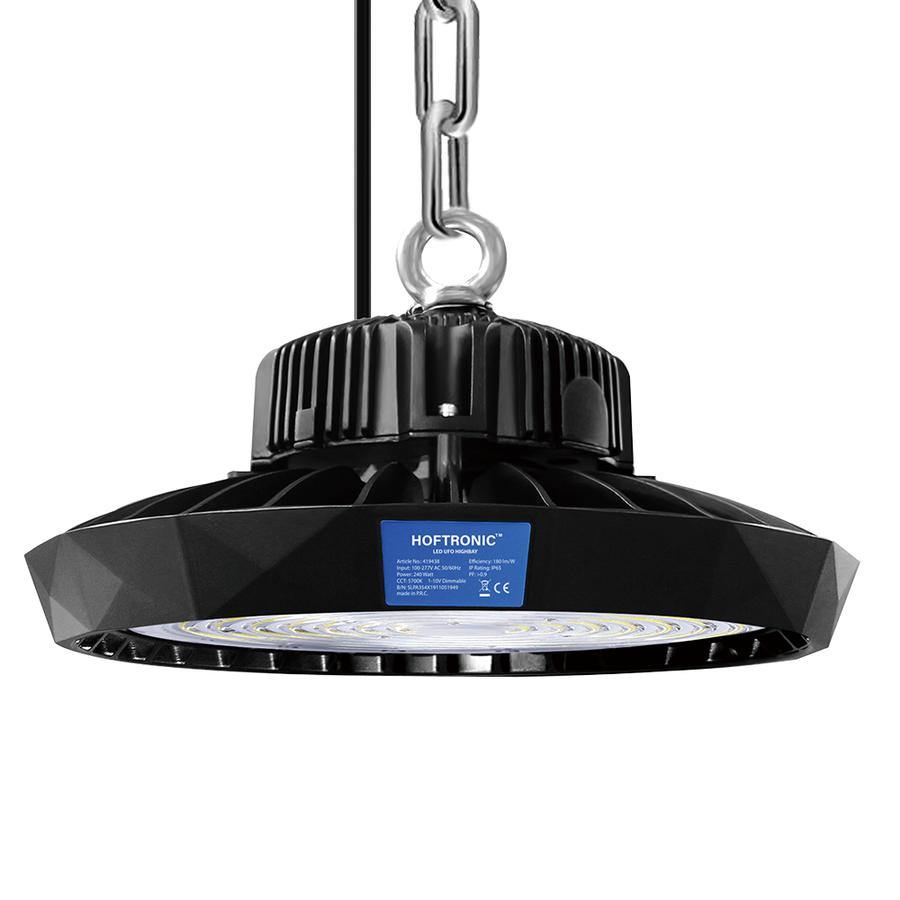 LED Highbay 240W Dimmbar 5700K Bridgelux IP65 43.200lm [180lm/W] 120° 5 Jahre Garantie