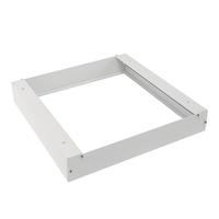 Opbouwframe voor LED paneel 30x30 kleur wit inclusief schroeven