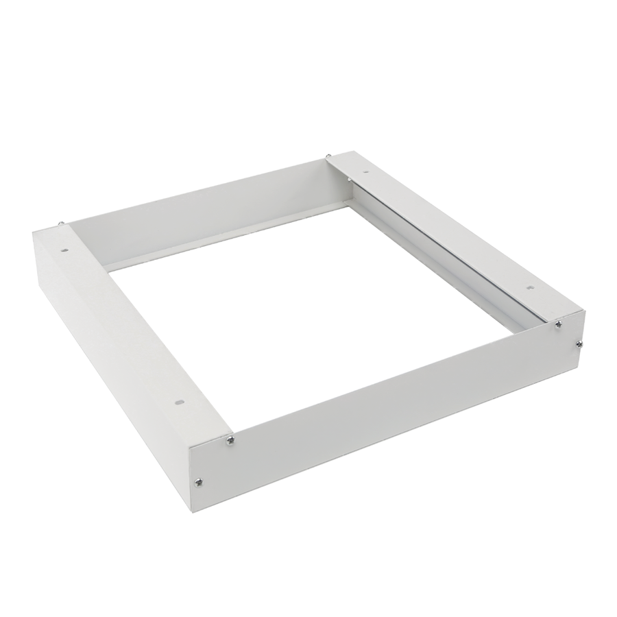 Mounting frame for LED Panel 30x30 color white including screws