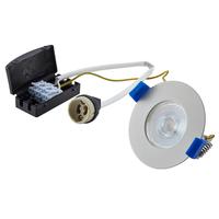 Bari LED inbouwspot armatuur wit inclusief GU10 fitting IP65 spatwaterdicht 2 jaar garantie