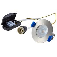Bari LED inbouwspot armatuur RVS inclusief GU10 fitting IP65 spatwaterdicht 2 jaar garantie