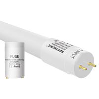 10x LED T8 TL buis 60 cm 9 Watt 990lm 6000K incl. starter Flikkervrij