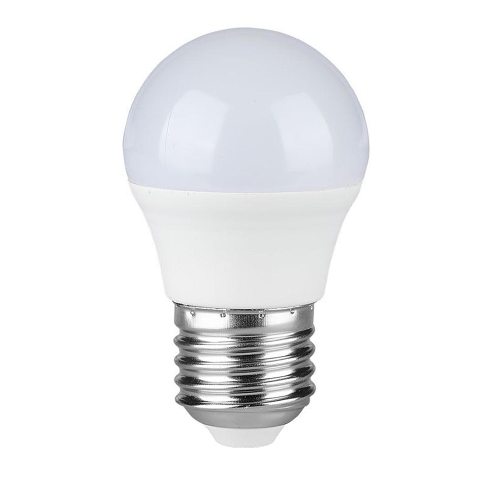 E27 LED Lamp 4 Watt Kogellamp G45 2700K Vervangt 30 Watt