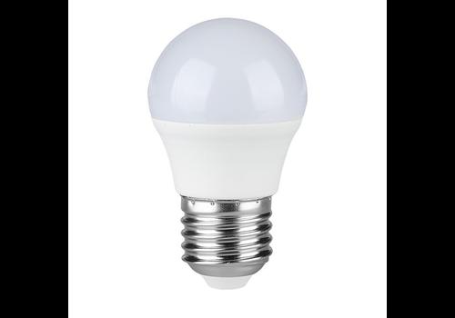 E27 LED Lamp 4 Watt Kogellamp G45 4000K Vervangt 30 Watt