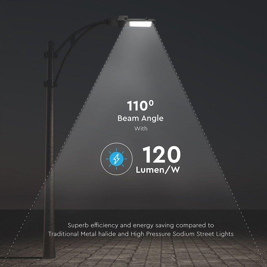 LED Straatlamp 150 Watt 6400K 18.000lm IP65 Samsung 5 jaar garantie