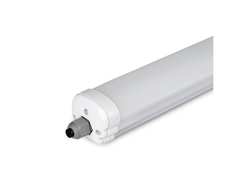 V-TAC IP65 LED armatuur 120 cm 24W 3840lm 4500K Koppelbaar
