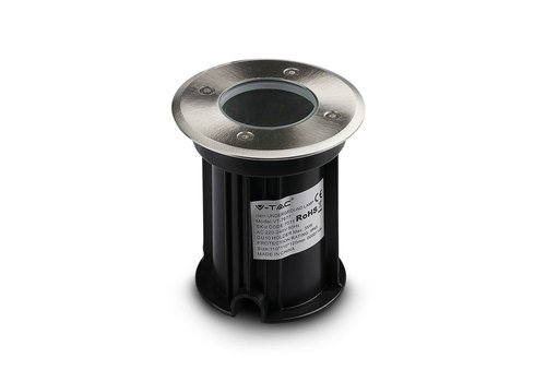 Ground spot stainless steel round suitable for GU10 spots IP67 water-proof 3 Years warranty
