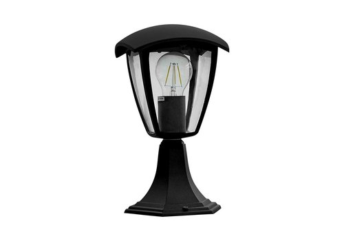 Garden light standing LED Aluminum Square E27 IP44