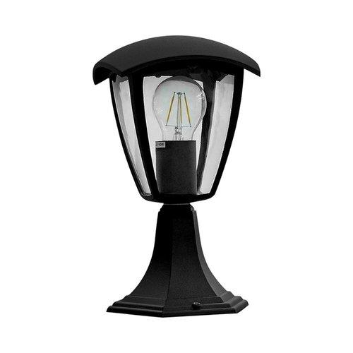 LED Tuinlantaarn staand LED Aluminium Vierkant E27 IP44