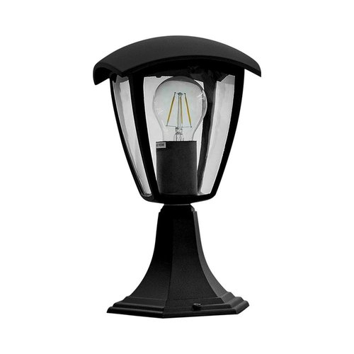 V-TAC LED Tuinlantaarn staand LED Aluminium Vierkant E27 IP44