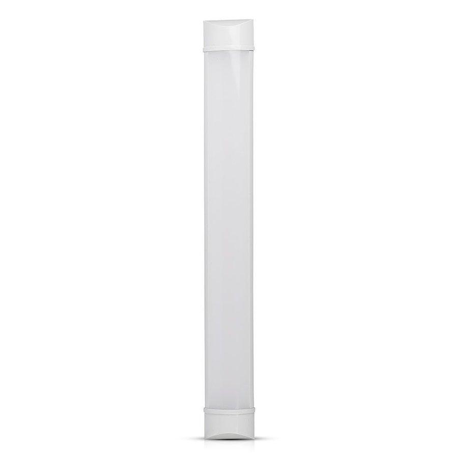 LED Batten 60 cm 20W 4000K 2400lm Samsung - 5 Jahre Garantie Inkl. Montage Halterungen & schnellverbinder