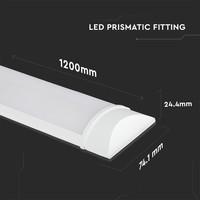 LED Batten 120 cm 40W 3000K 4200lm Samsung - 5 jaar garantie incl. montageklemmen & quick connector