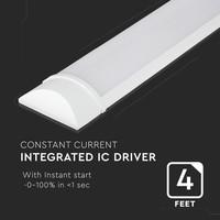 LED Batten 150 cm 38W 6400K 6080lm Samsung - 5 jaar garantie incl. montageklemmen & quick connector