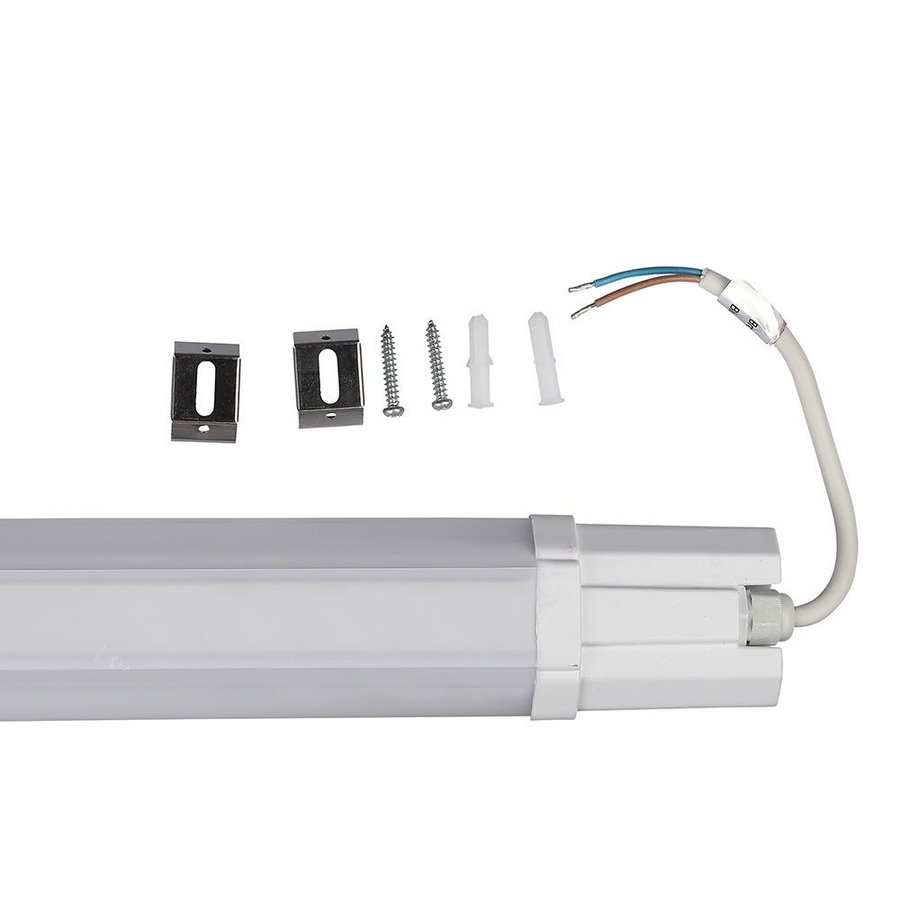 IP65 LED waterproof fixture 150 cm 48W Daylight white 6500K