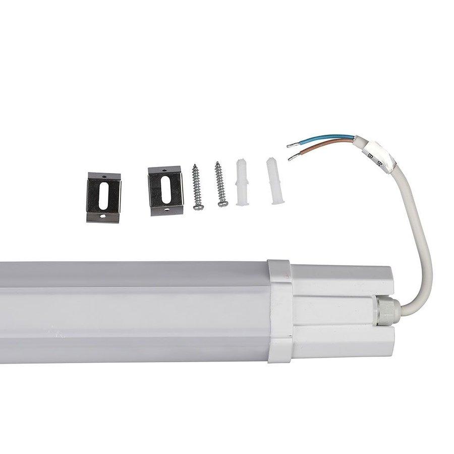 IP65 LED armatuur 150 cm 48W 4000lm 6500K daglicht wit