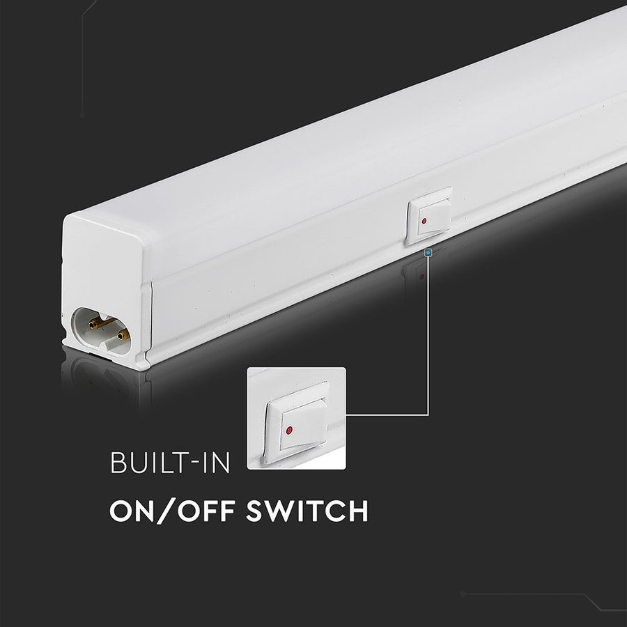 T5 LED fixture 60 cm 3000K 7 Watt Linkable 5 year warranty Samsung