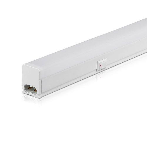 V-TAC T5 LED Armatuur 120 cm 3000K 16 Watt Koppelbaar 5 jaar garantie Samsung