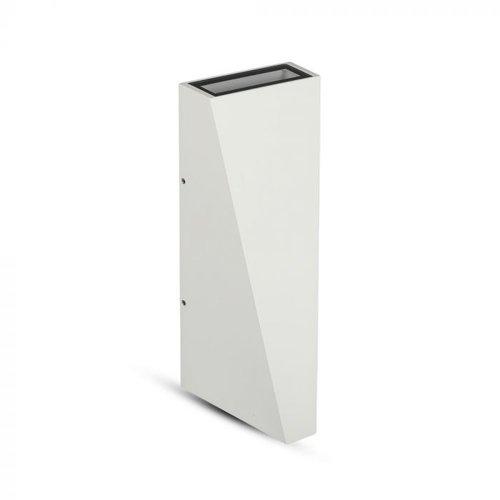 V-TAC LED Wandleuchte 6 Watt 3000K doppelseitig leuchtend IP65 weiß