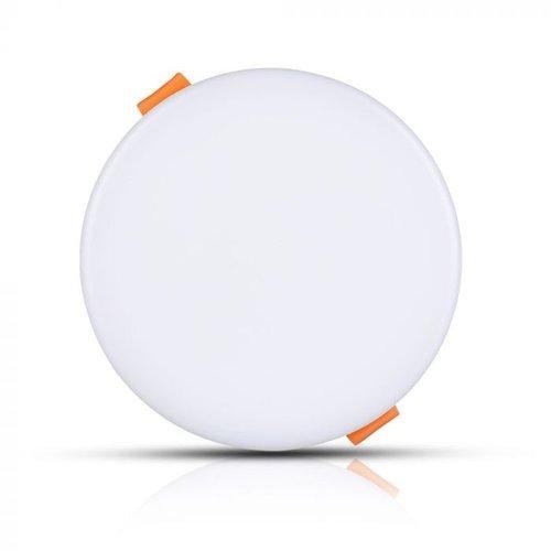 V-TAC MINI LED Paneel Downlight wit 12 Watt 6400K rond IP20