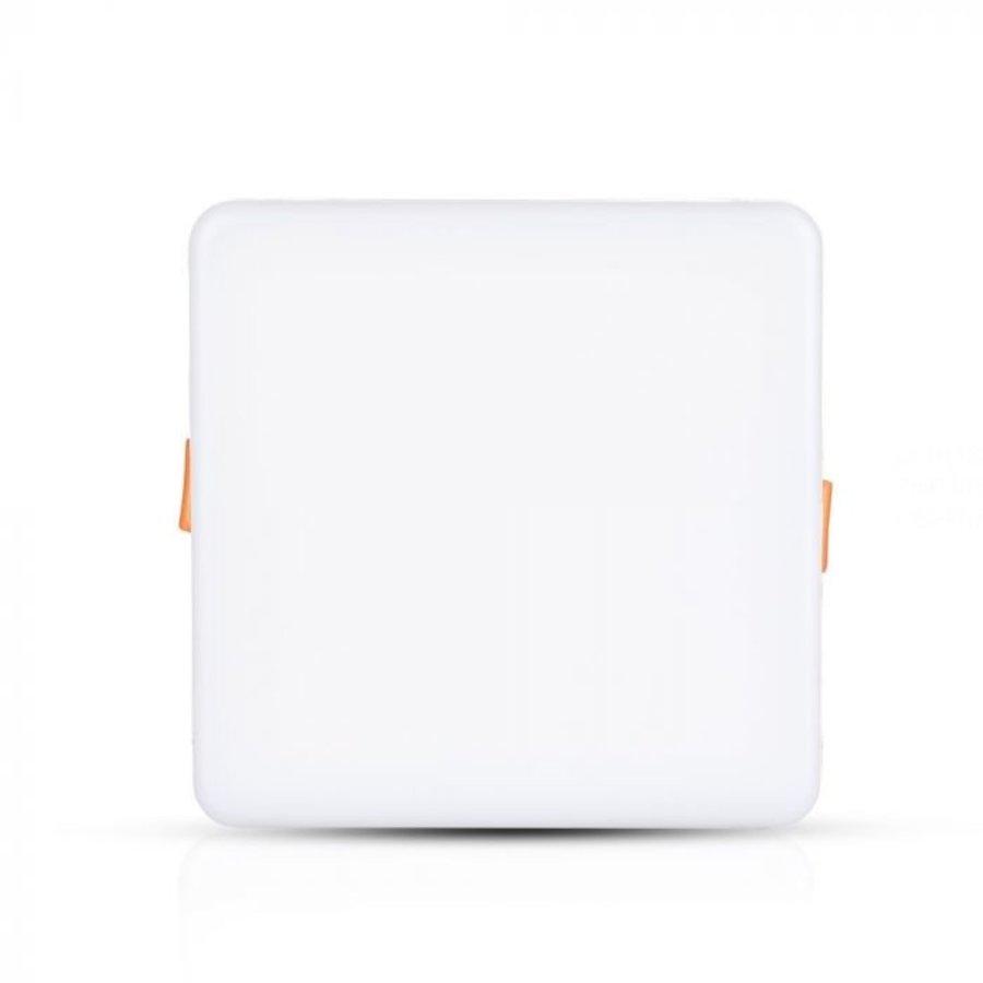 MINI LED panel Downlight white 12 Watt 3000K square IP20