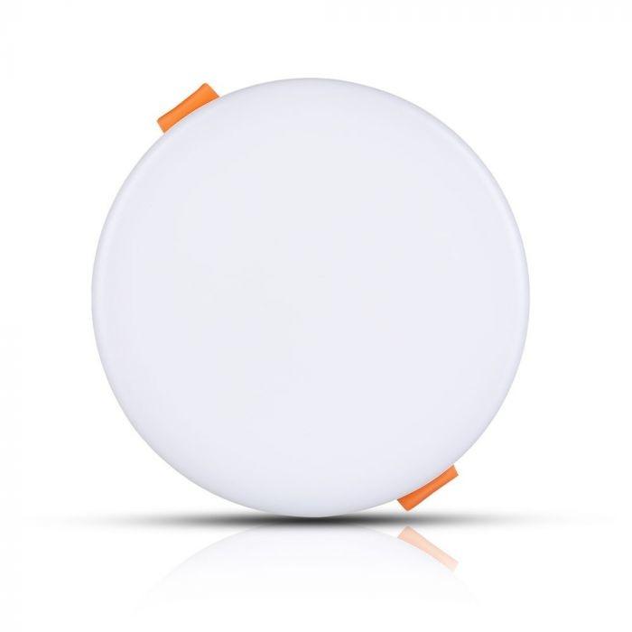 MINI LED Paneel Downlight wit 18 Watt 3000K rond IP20