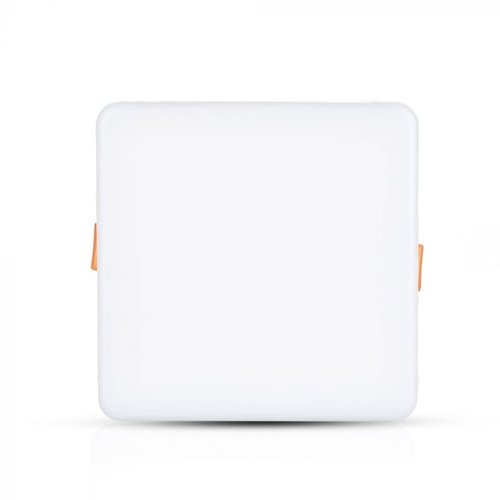 V-TAC MINI LED panel Downlight white 18 Watt 3000K square IP20